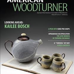 American Woodturner 34 issue 1